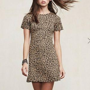 Vintage Leopard A-line Dress
